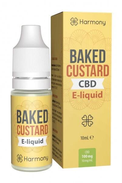 Baked Custard CBD Liquid Harmony