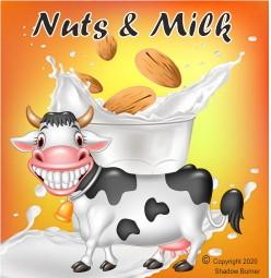 Nuts & Milk Aroma Shadow Burner