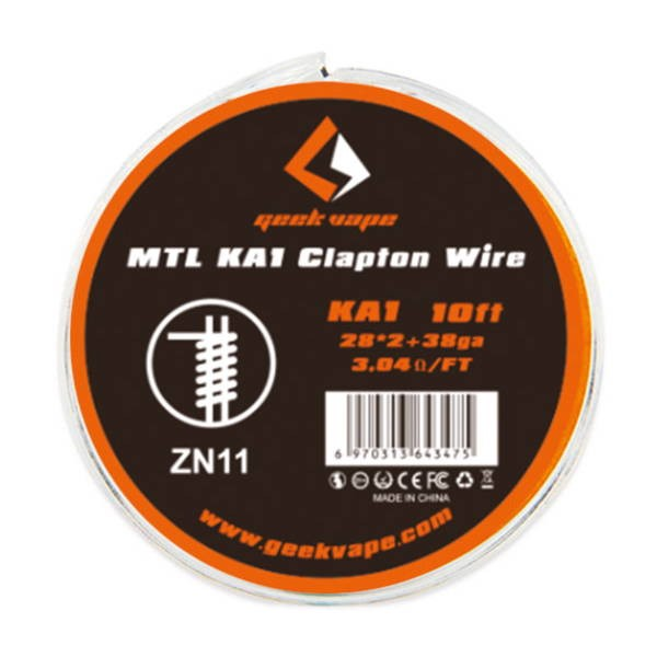 Geekvape MTL KA1 Clapton Wire Wickeldraht
