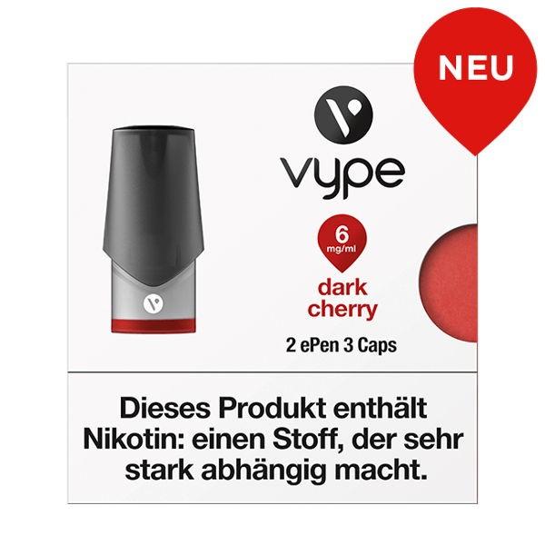 Dark Cherry Caps vPro Vype ePen3 6mg