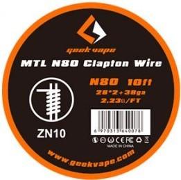 MTL N80 Clapton Wire