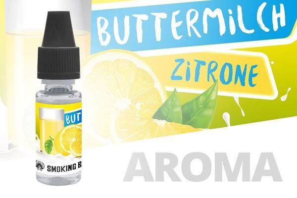 Buttermilch Zitrone Aroma Smoking Bull