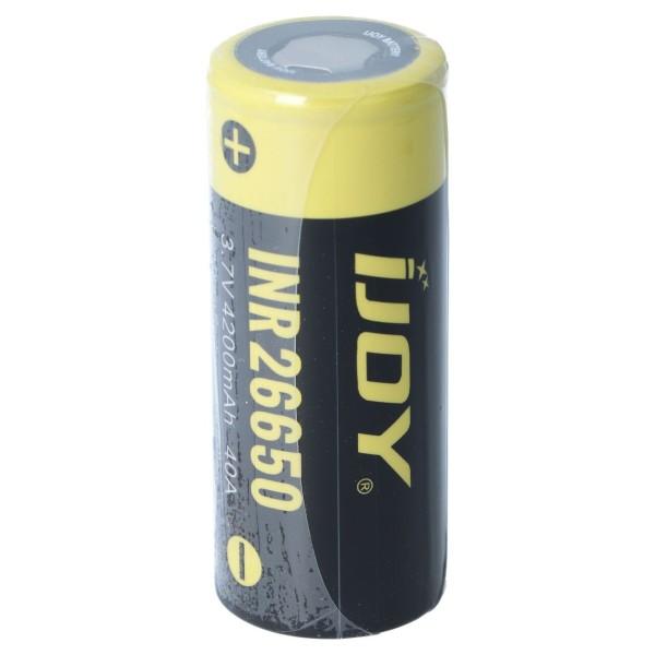 iJoy INR 26650 Li-Ion Akku | 4200 mAh - 40 A Akkuzelle