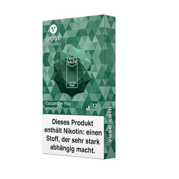Cocumber Fizz Nic Salts Caps Vuse ePod 12 mg