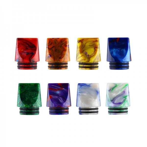 810er Resin Flat Design DripTip