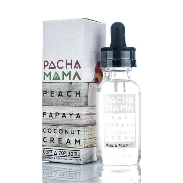 Peach Papaya Coconut Cream Liquid Pacha Mama