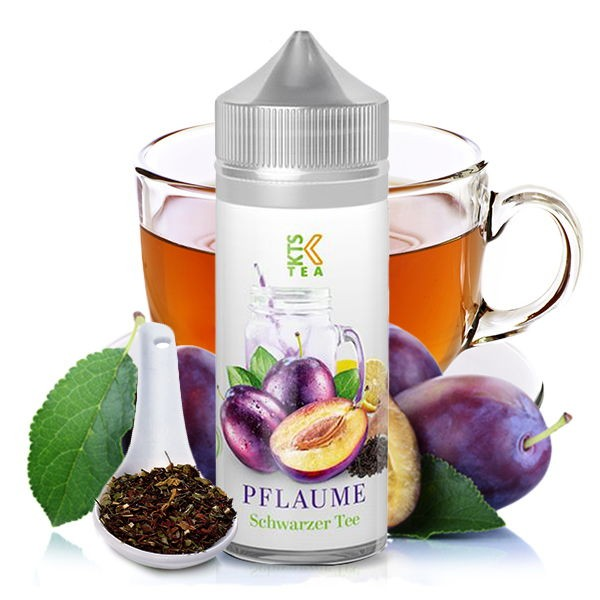 KTS Tea Line Aroma Pflaume Schwarzer Tee