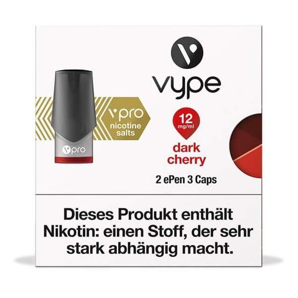 Dark Cherry Caps vPro Vype ePen3 12mg