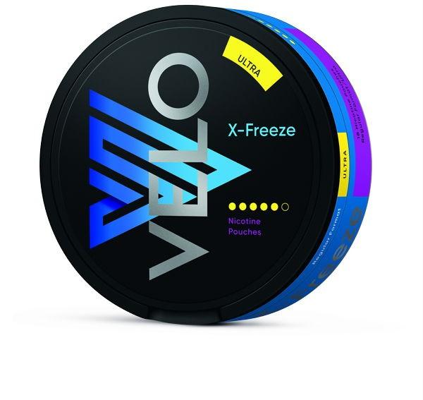 X-Freeze Ultra Kautabak VELO seitlich