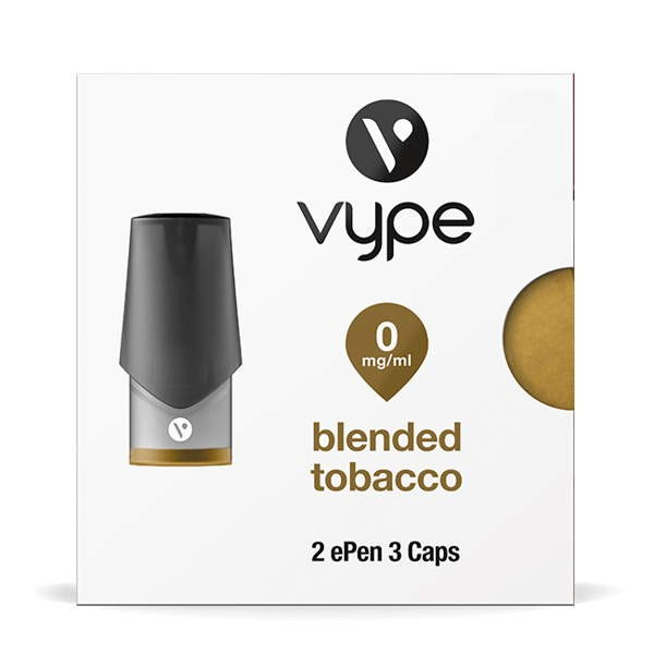 Blended Tobacco Caps Vype ePen3 0mg
