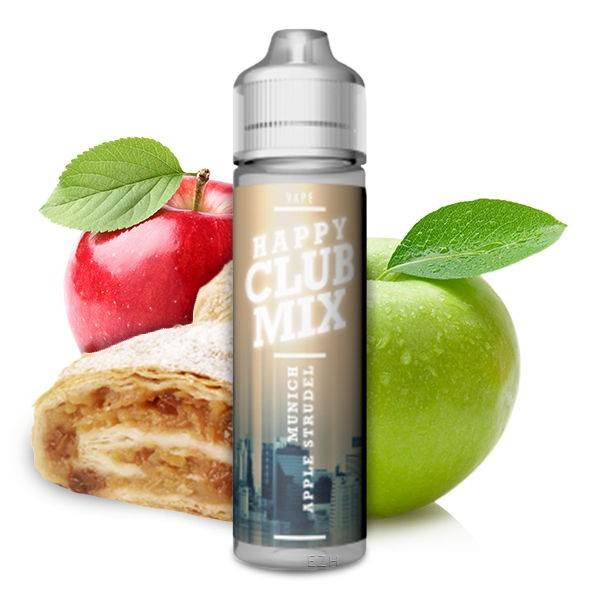Happy Club Mix Munich Applestrudel Aroma