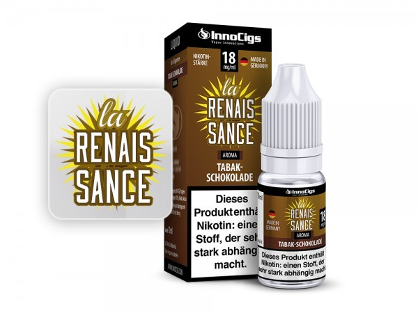 La Renaissance - Tabak Schokolade Liquid Innocigs
