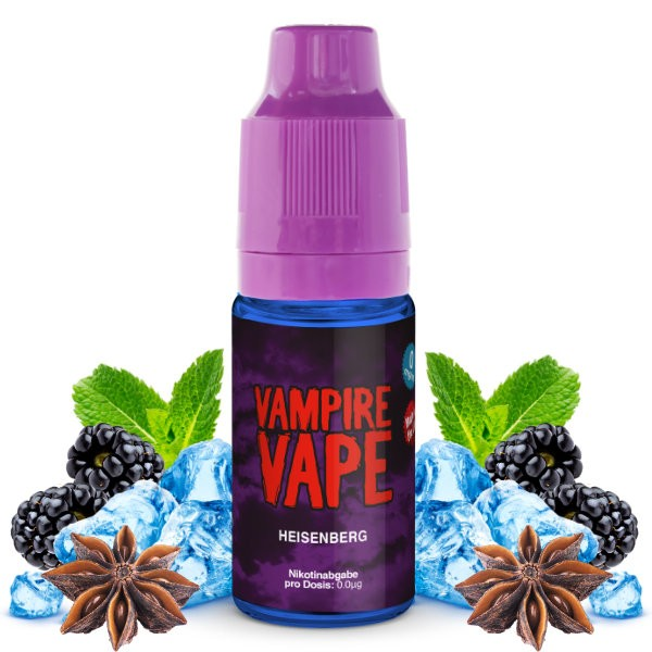 Heisenberg Liquid Vampire Vape