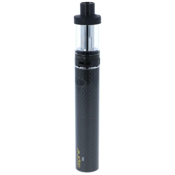 Aspire K4 Cleito Starter Kit Schwarz E-Zigarette
