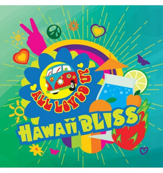 Hawaii Bliss Aroma All Loved Up Big Mouth