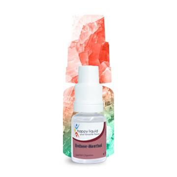 Erdbeer-Menthol Nikotinsalz Happy Liquid