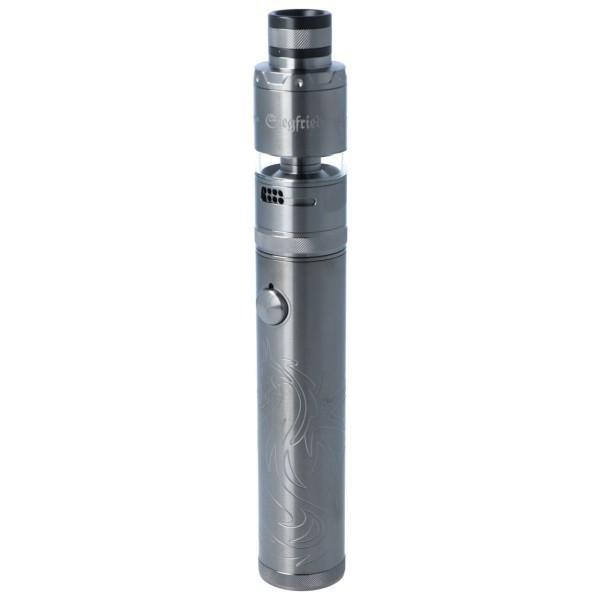 Vapefly Siegfried Kit Edelstahl Gunmetal E-Zigarette