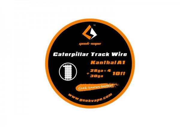 Geekvape Caterpillar Track Wire Kanthal A1 Wickeldraht