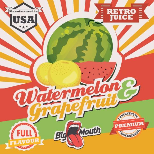 Watermelon & Grapefruit Aroma Retro Juice Big Mouth