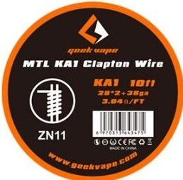 Geekvape MTL KA1 Clapton Wire