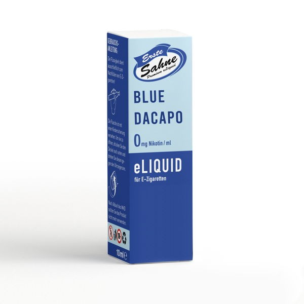Blue daCapo Liquid Erste Sahne
