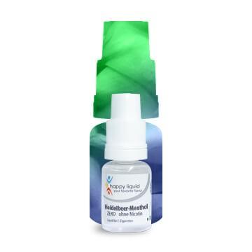 Heidelbeer-Menthol Happy Liquid