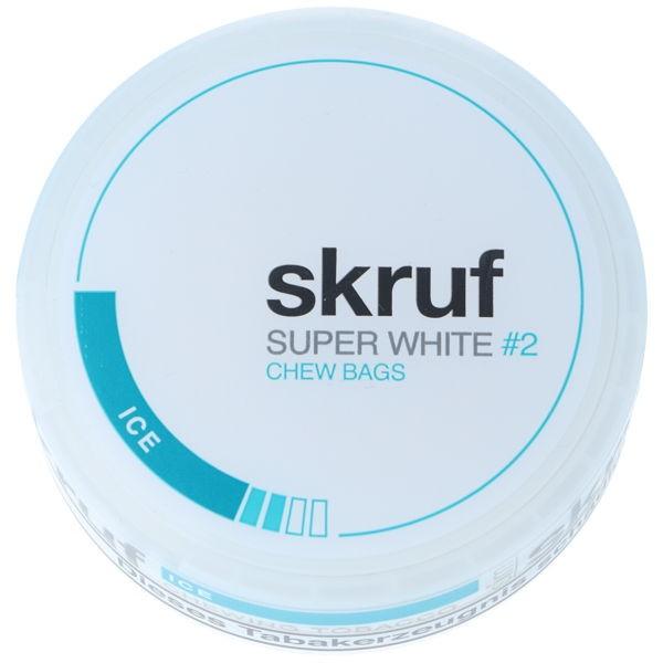 Ice Kautabak Skruf Super White