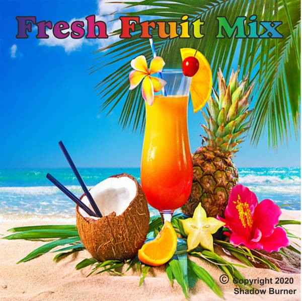 Fresh Fruit Mix Aroma Shadow Burner