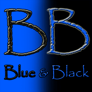 Blue & Black Aroma Dark Burner
