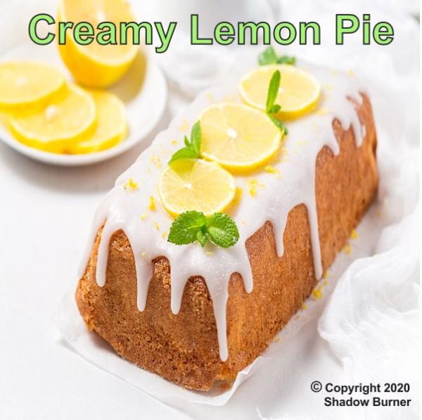 Creamy Lemon Pie Aroma Shadow Burner