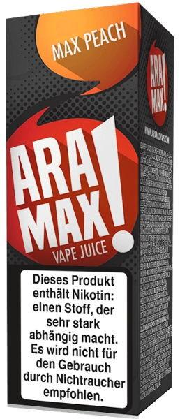 Max Peach Liquid Aramax