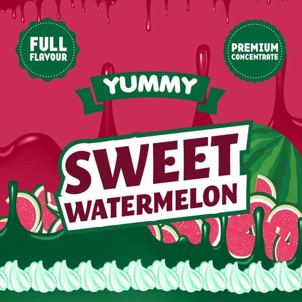 Sweet Watermelon Aroma Yummy Big Mouth