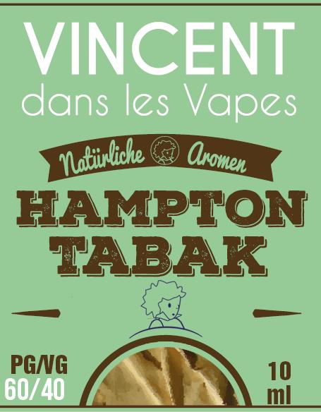 Hampton Tabak Liquid Vincent