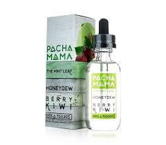 The Mint Leaf Honeydew Berry Kiwi Liquid Pacha Mama