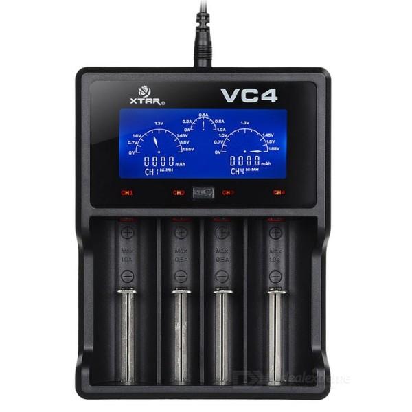 VC4 4-Schacht Ladegerät Xtar