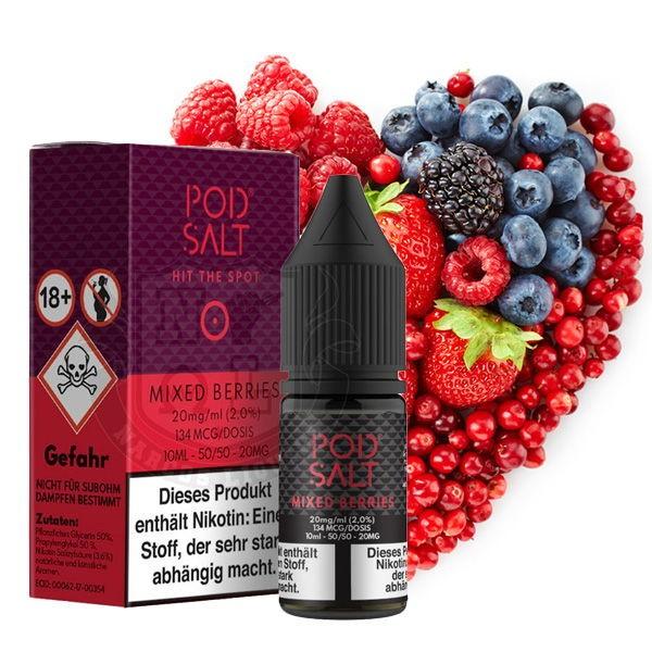 Mixed Berries Liquid Pod Salt