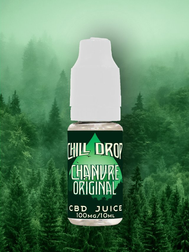 Original Hemp CBD Liquid Chill Drop