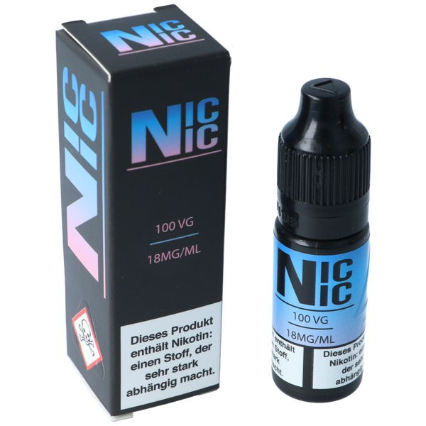 NICNIC 18 mg/ml 100VG Nikotinshot